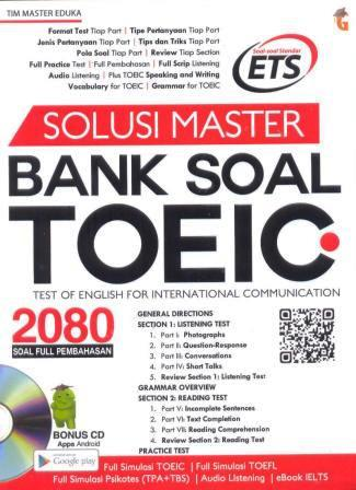 Solusi master bank soal TOEIC : test of english for international communication