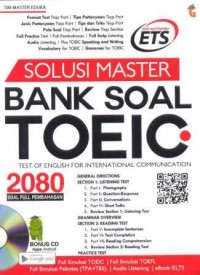 Image of Solusi master bank soal TOEIC : test of english for international communication