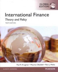 Image of International finance : theory and policy